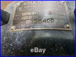 Antique emerson oscillating 12 fan 24666