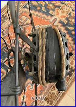 Antique fan 15 G. E. Pancake Stick Mount