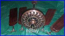 Antique turek ceiling fan type C single speed beautiful piece