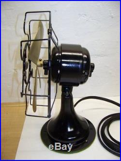 Antique vintage 1919 Westinghouse Whirlwind 8 280598 electric fan restored
