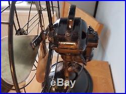Antique vintage 1930s art deco GEC General Electric Company fan