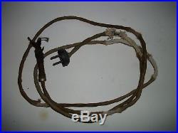 Antique-vintage Ge 1902 Pancake-motor-7 3/4 Tag-5 Speed-brass Blade-ribbed Base
