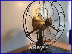 Antique / vintage art deco BTH (British Thomson Houston) electric desk fan
