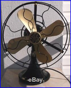 Antique/vintage/deco 1930 Electric 12 Oscillating Fan-professionally Restored