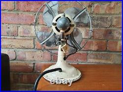 Antique / vintage small Verity Limit art deco electric desk fan