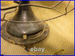 Antique vtg 1920's Brass Blade Electric Fan Century S3C-16 MODEL 263 WORKING