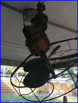 Antique westinghouse rotaire fan