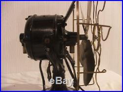 Antique1906 Westinghouse 12 4 Blade Brass Cage Tank Fan Antique Electric 60677