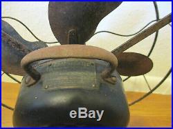 AntiqueEMERSONElectric Fan3 Speed#2964612 Blades