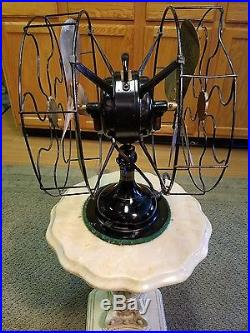 Beautiful Working Antique Robbins And Myers Double Headed Electric Fan