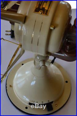 Beautiful Restored Antique Westinghouse Brass Electric Fan