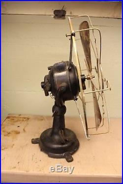 Brass Blade Fan, Antique Electric Fan, Fidelity Electric Fan