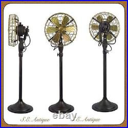 Brass blade electric fan antique electric fan brass blade SE Size 12