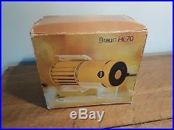 Braun HL70 vintage electric desk fan made in West Germany