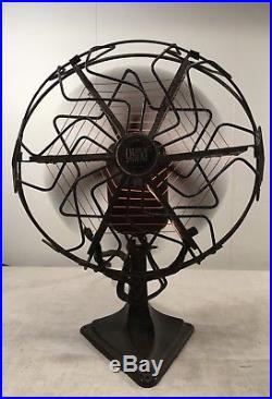 C1920s Antique ART DECO QUIK HEAT ELECTRIC FAN Alliance Mfg. Vtg Heater RARE