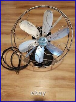 Cincinnati Victor Co. Antique Airplane 6 Blade Fan