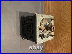 Crocker Wheeler Bipolar Edison Rheostat Antique Electric Fan Meter Motor