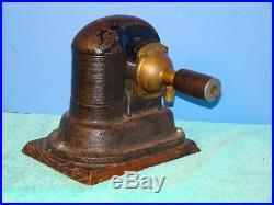 Dayton Dynamo Antique Gas or Steam Engine Generator Motor Edison Era Old Brass