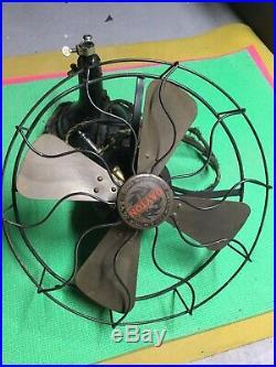 Dayton Model 367 Brass Antique Fan