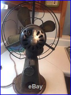 Early 1900's General Eletric Prepayment Fan