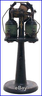 Early Open Frame Bipolar Motor Electric Fan- Ziegler Electric Co, Boston, Mass