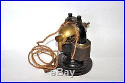 Early antique electric bipolar fan european Western Electric