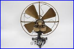 Early antique electric fan from a Museum made by Western Electric 16