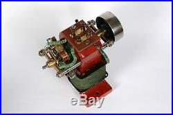 Early vintage electric dynamo/motor made by AEG/Germany around 1890