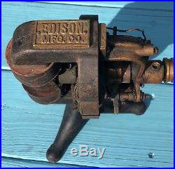 Edison dc antique fan motor 1894 tesla era electric for Antique electric motor repair