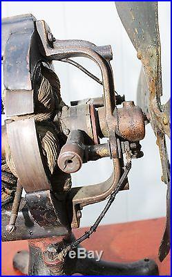 Edison Manufacturing 1892 1894, Battery, Antique Fan, C Frame, Early