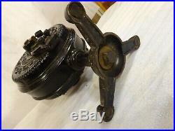 Emerson Tripod FI-1 Pancake fan FI1 Motor Brass Antique untouched original