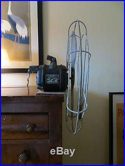 Extremely Rare Antique Knight Gibson Whirlwind Propeller Fan Spirit of St Louis