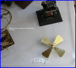 Fan Blade for Antique Electric Bi-Polar Motor Knapp Ajax &more Spectacular Brass