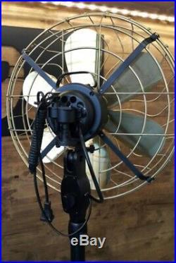 Fan Blades Brass Vintage Style electric fan16fan Floor Antiques tyle New