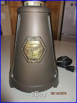 Fanimation FP3320OB Fargo Tabletop Fan, Oil Rubbed Bronze/Antique Brass Finish