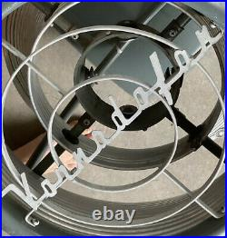 First Vornado WITH BADGE, Early Jet Propulsion Theory Fan Housing 1947 NICE
