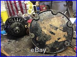 Ge Collar Oscillator Antique Brass Fan