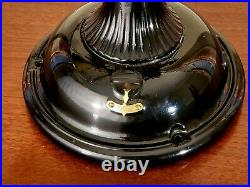 Ge Roundball 1904 Ribbed Base Fan Restored Antique Ge Pancake Fan