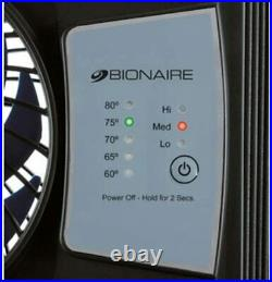 Group Bionaire Thin Window Fan with Comfort Control Thermostat, BWF0522E