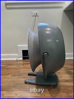 LARGE Vornado Vintage Large Industrial Vornado Fan B12D1 Fan Atomic retro