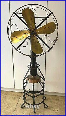 Lake Breeze Origianl 1917 Hot Air Stirling Engine Motor Fan Antique Hit and Miss