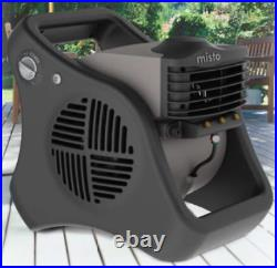 Lasko 15 3-Speed Pivoting Misto Outdoor Misting Fan with Automatic Louvers