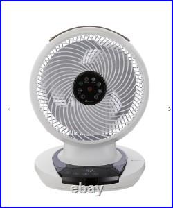MEACO MeacoFan 1056 Portable 12 Desk Fan White Low Energy Fan Inc Remote