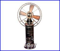 Mechanism Antique Style Old 1920's Jot's Patent Radio Kerosene Fan Fan's TF 01
