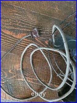Menomonee Antique Cast Iron Clamshell Fan