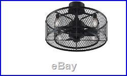 NEW 23 In Vintage Antique Electric Indoor Bronze Light Ceiling Fan 3 Blades