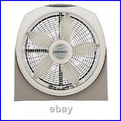 OSCILLATING FLOOR FAN 20 Remote Wall Mount 3-Speed Portable High Velocity Timer