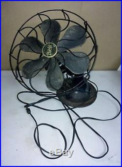 Ornate Diehl Antique Electric Fan