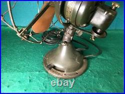 Outstanding Antique General Electric Oscillating Fan. Pat. 1906. Original Paint