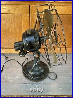 R&M 13 Brass Fan with 6 Blades Roberts & Myers